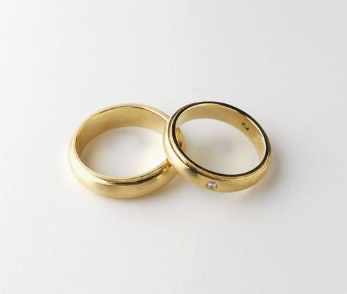 밀그레인 반지 디자인