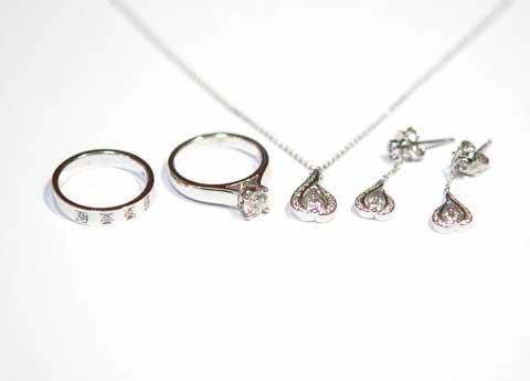 다이아몬드 결혼예물세트