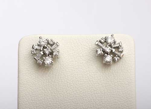 다이아몬드 귀걸이