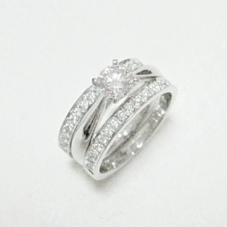 다이아몬드 예물반지